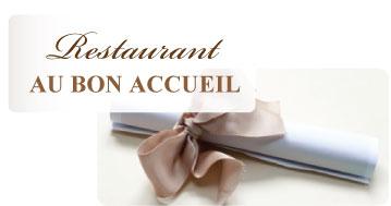 Bon cadeau Restaurant Au Bon Accueil
